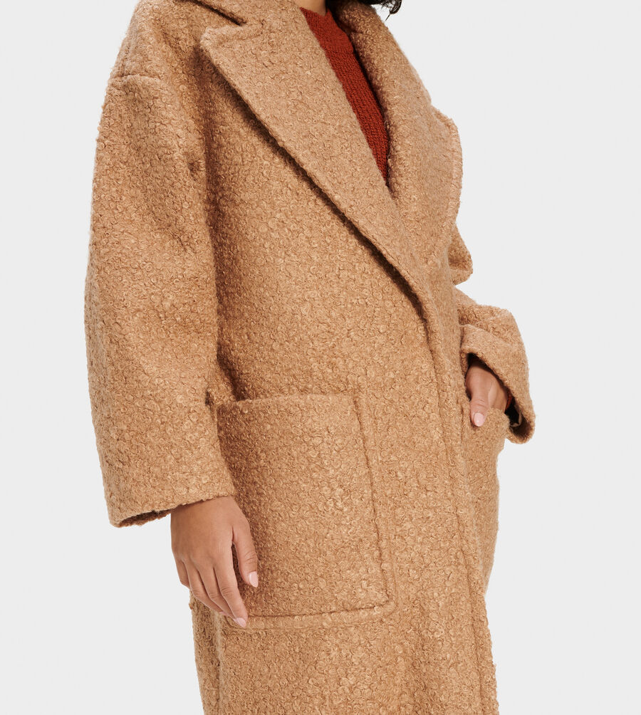 Hattie Long Oversized Coat - Image 3 of 5