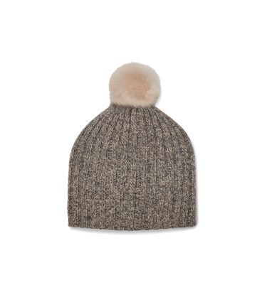 Pippa Rib Knit Pom Hat