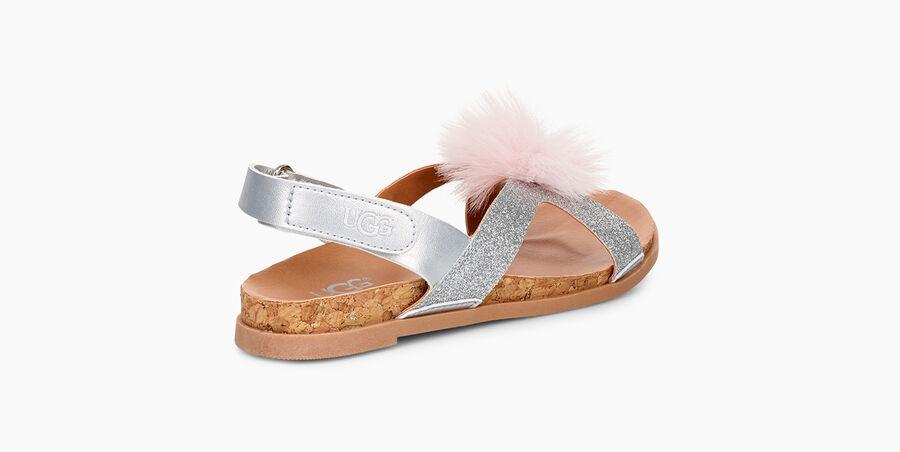 Fonda Glitter Pom Sandal - Image 4 of 6