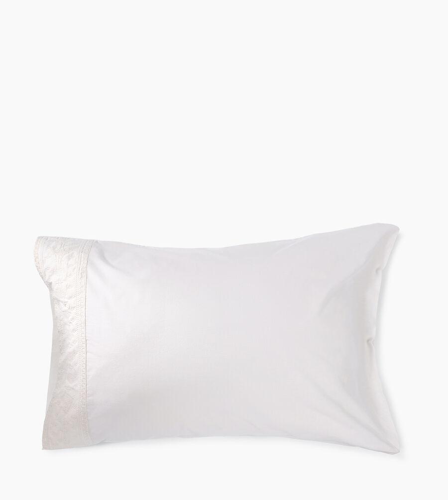 Cody Emb Pillowcase Pair - Image 1 of 3