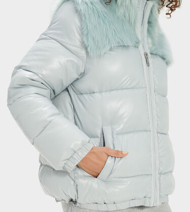 Jada Puffer- Faux Fur Alternative View