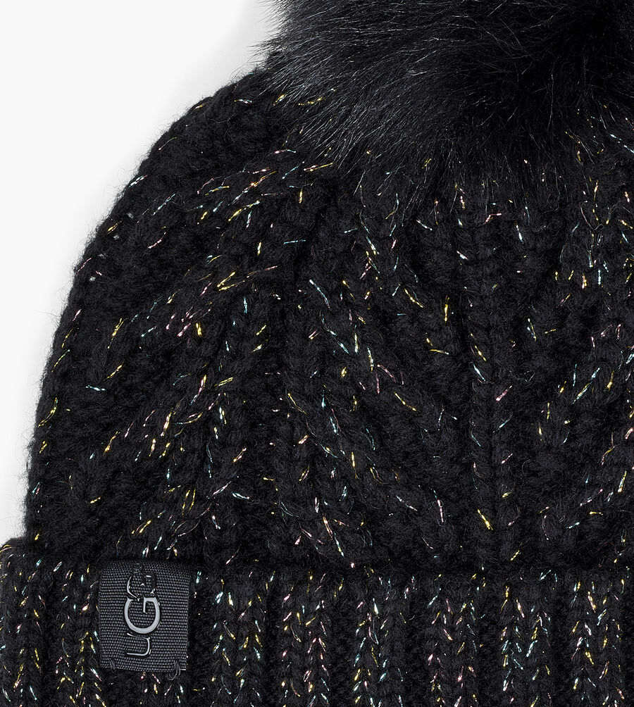 Cable Pom Beanie - Image 2 of 2