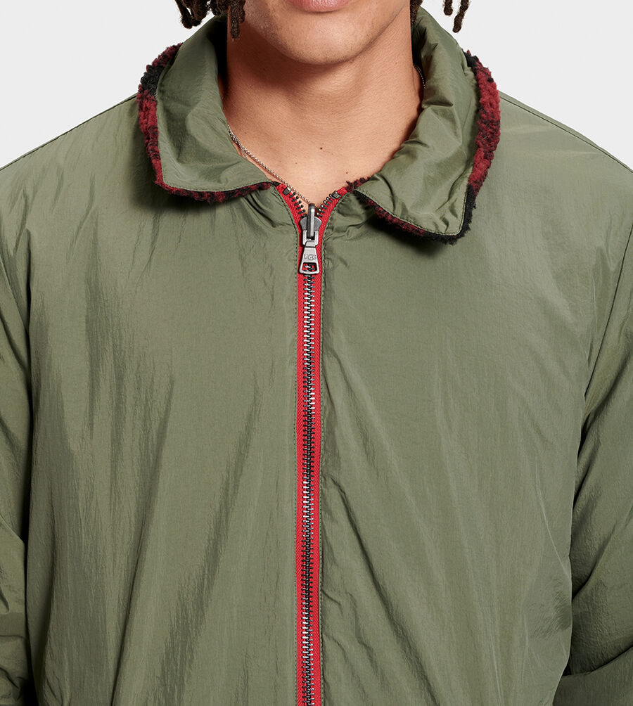Mace Reversible Sherpa Jacket - Image 5 of 6