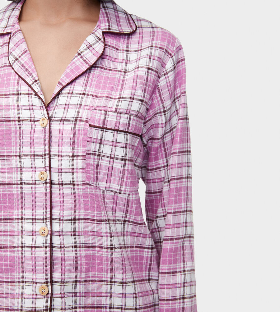 Milo Flannel PJ Set - Image 4 of 6