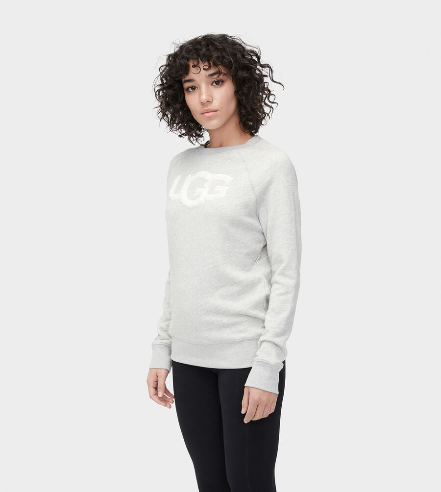 FUZZY LOGO SWEATSHIRT - Image 3 of 4