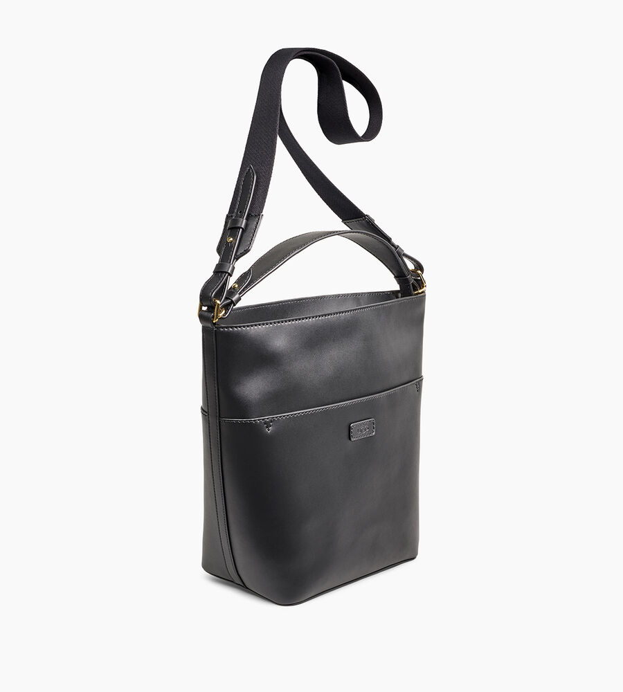 Libby Leather Bucket Tote - Image 2 of 5