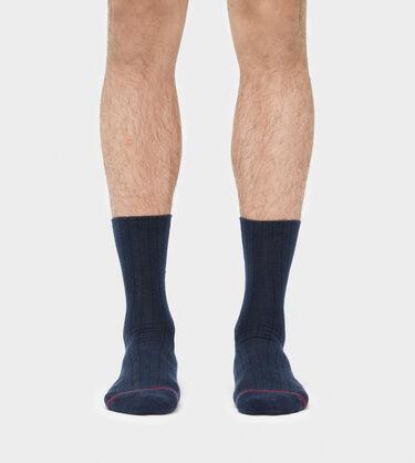 Classic Ribbed Crew Sock