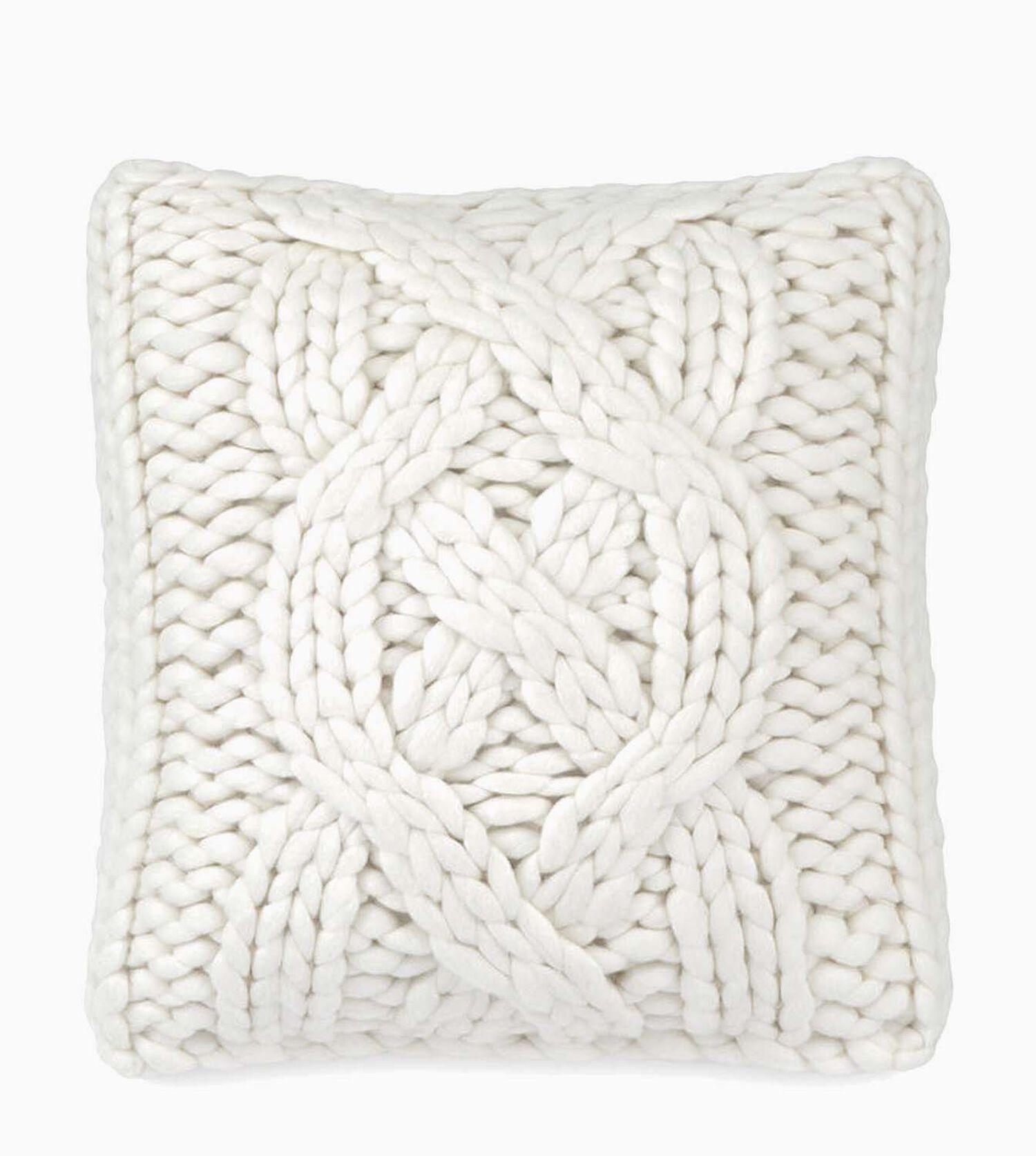 "UGG® Official | Oversized Knit Pillow 20"" | UGG.com"