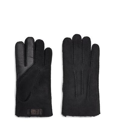 Contrast Sheepskin Tech Glove Alternative View