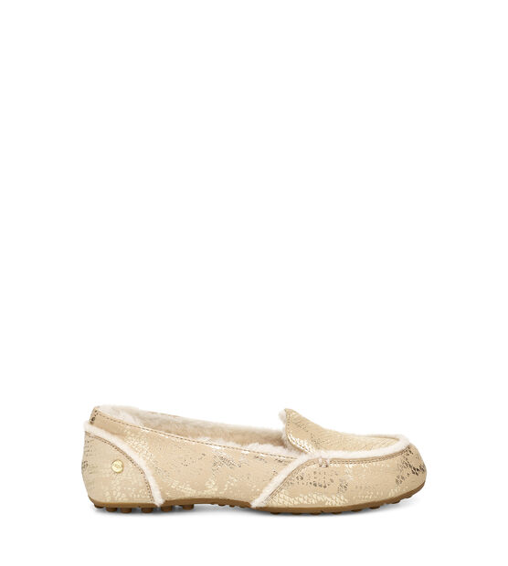 Hailey Metallic Snake Loafer