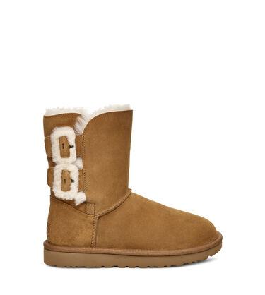 어그 UGG Bailey Fluff Buckle Boot