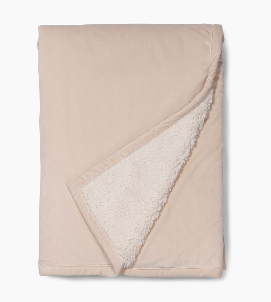 Bliss Sherpa Throw - Image 2 of 3