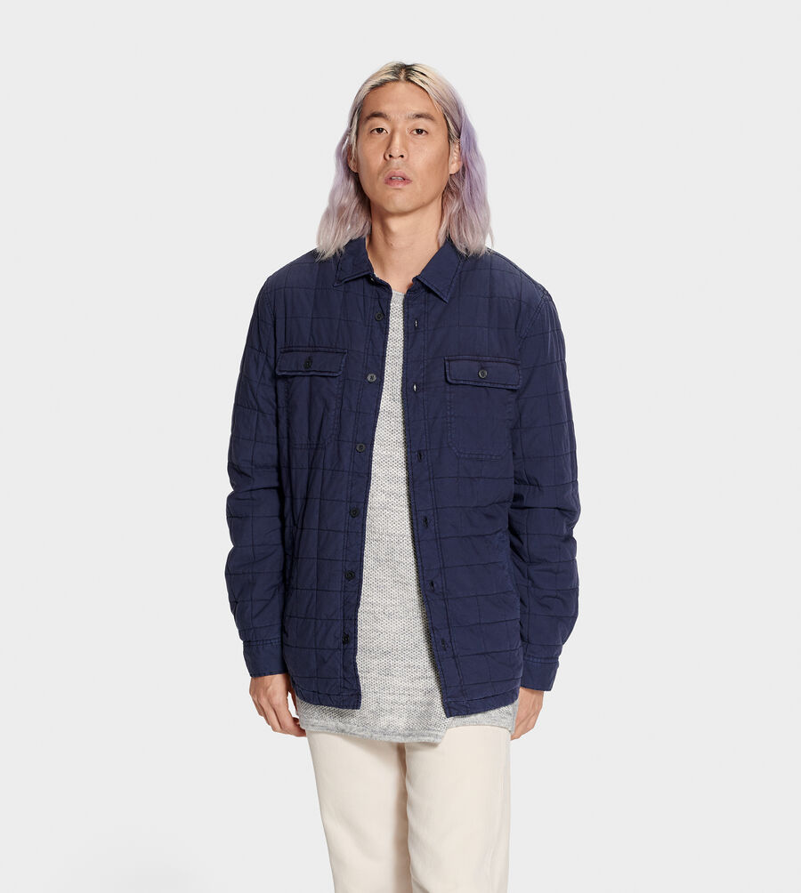 Trent Quilted Shirt Jacket - Image 1 of 6