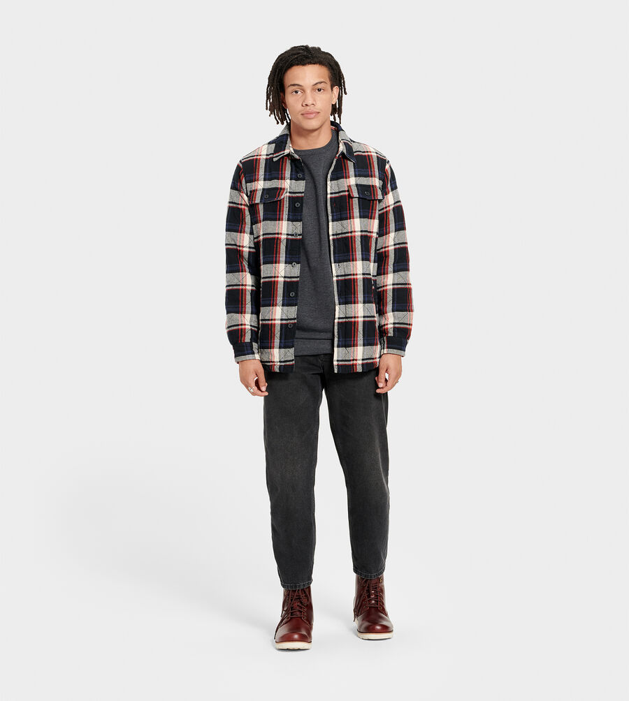 Trent Quilted Shirt Jacket Plaid - Image 6 of 6