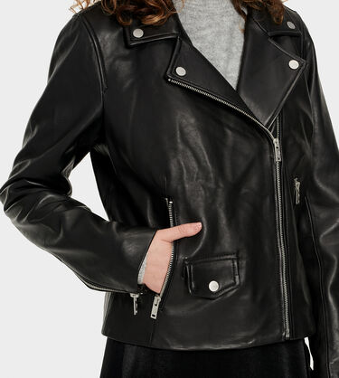 Alba Leather Jacket Alternative View