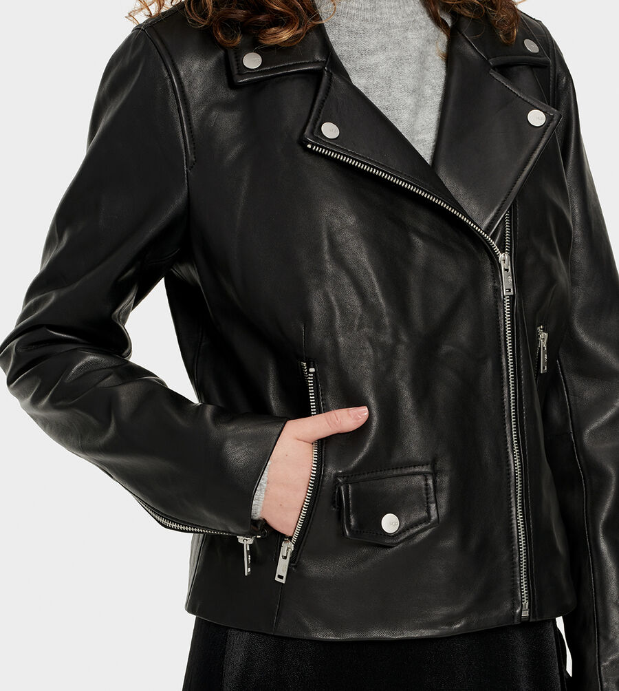 Alba Leather Jacket - Image 5 of 6