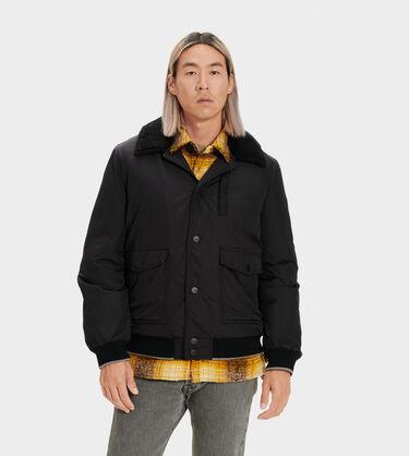 Ethan Bomber Sherpa Jacket