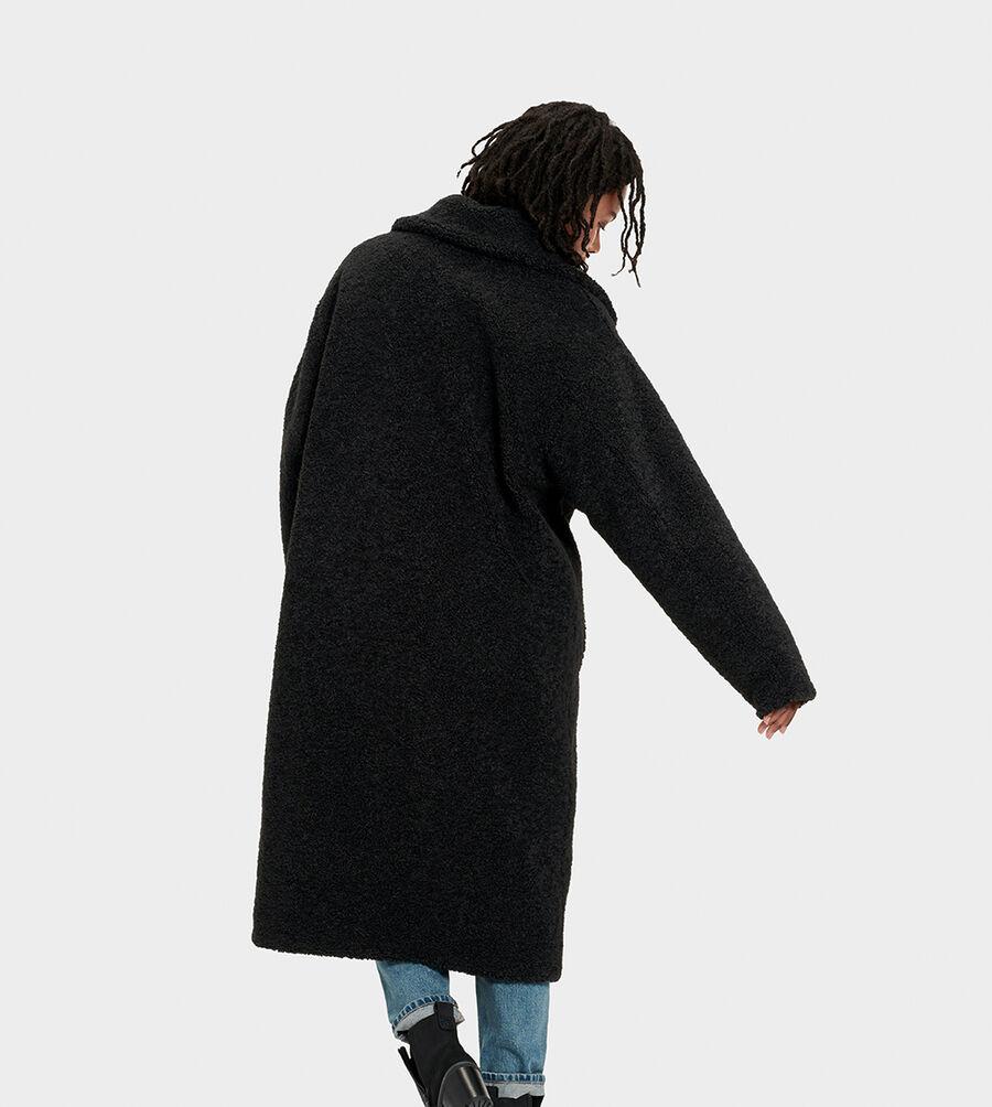 Charlisse Teddy Bear Coat - Image 2 of 6
