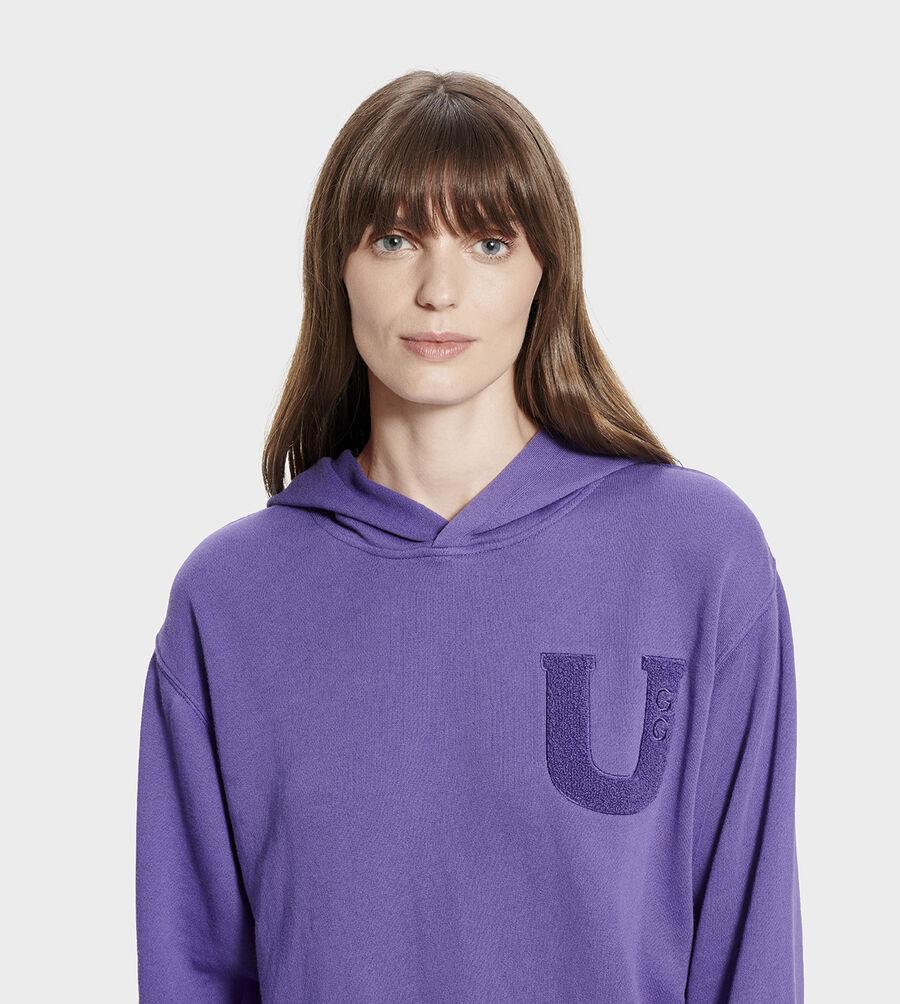 Fuzzy Logo Hoodie Sweatshirt - Image 4 of 6