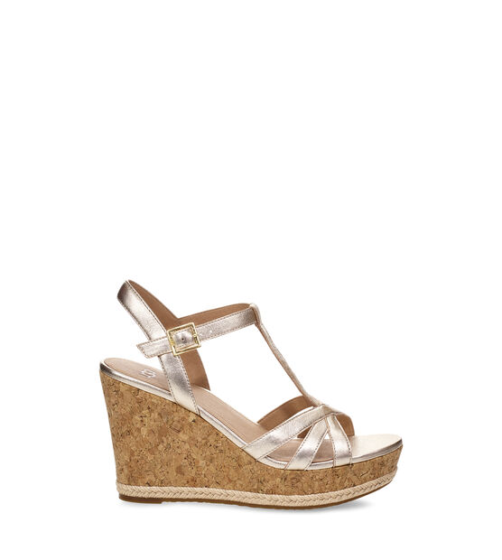 Melissa Metallic Wedge