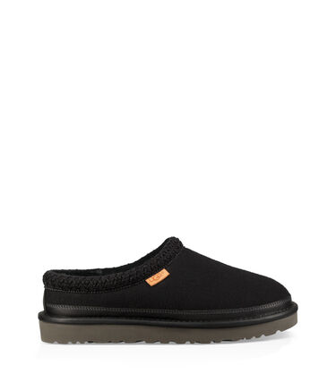 Tasman All Black Slipper