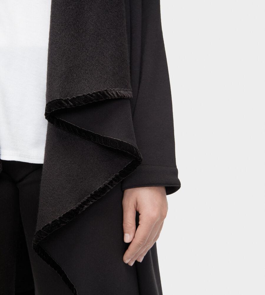 Janni Fleece Blanket Cardigan - Image 3 of 3