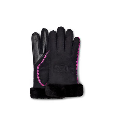 Shearling Ugg Embroidery Glove