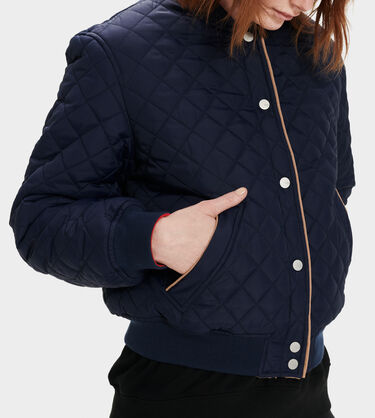 Eliana Reversible Sherpa Bomber Alternative View