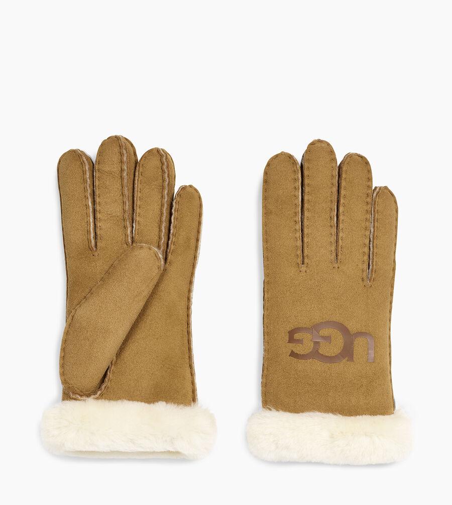 Sheepskin Logo Glove - Image 2 of 2