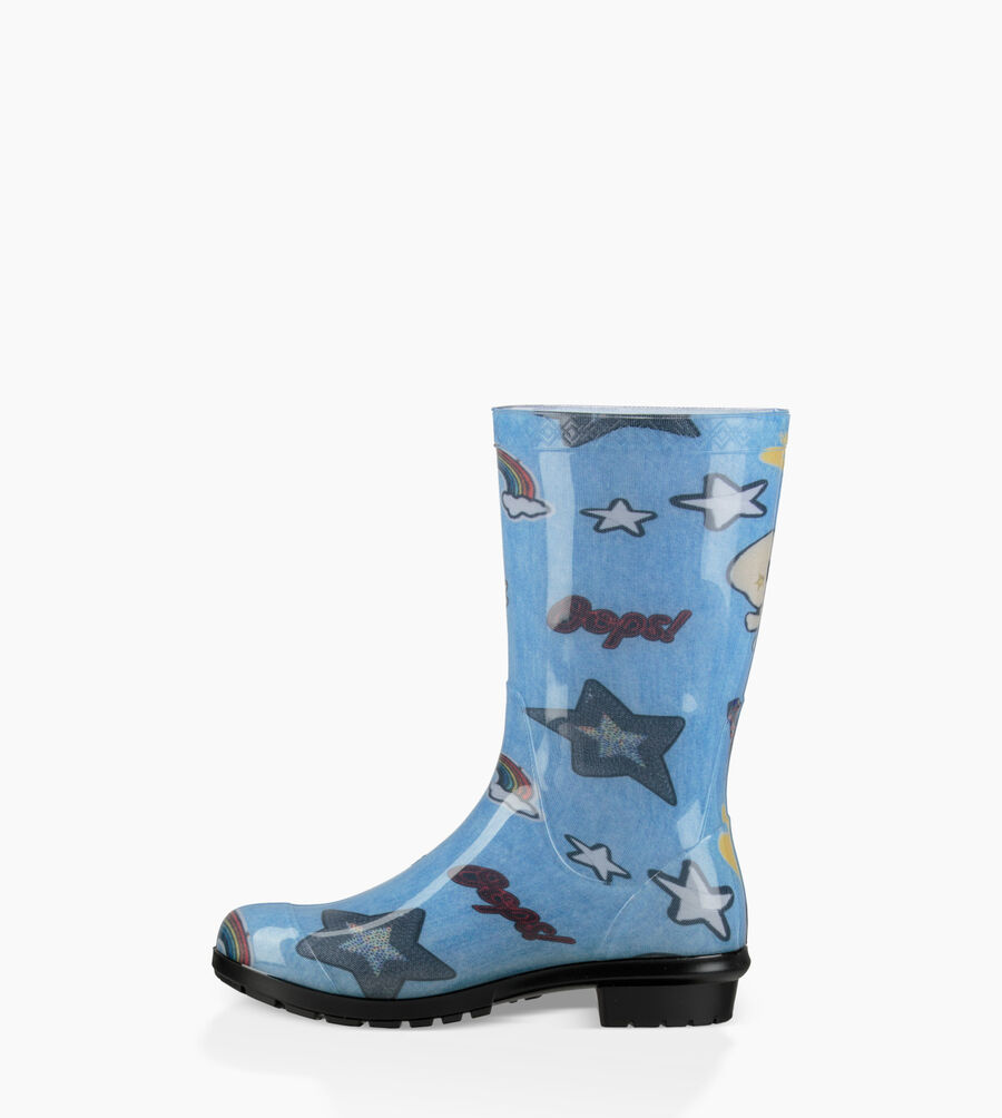 Raana Patches Rain Boot - Image 3 of 6