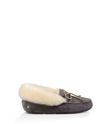 어그 여성 슬리퍼 UGG Alena Slipper,NIGHTFALL