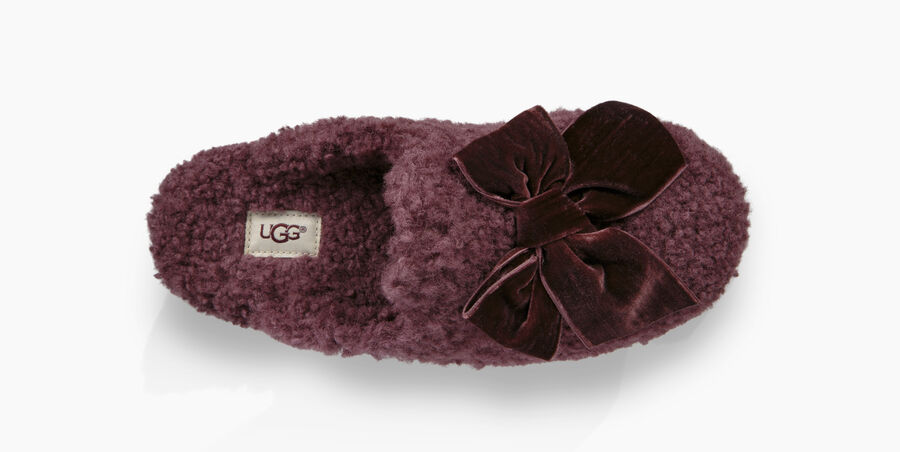 Addison Velvet Bow Slipper - Image 5 of 6