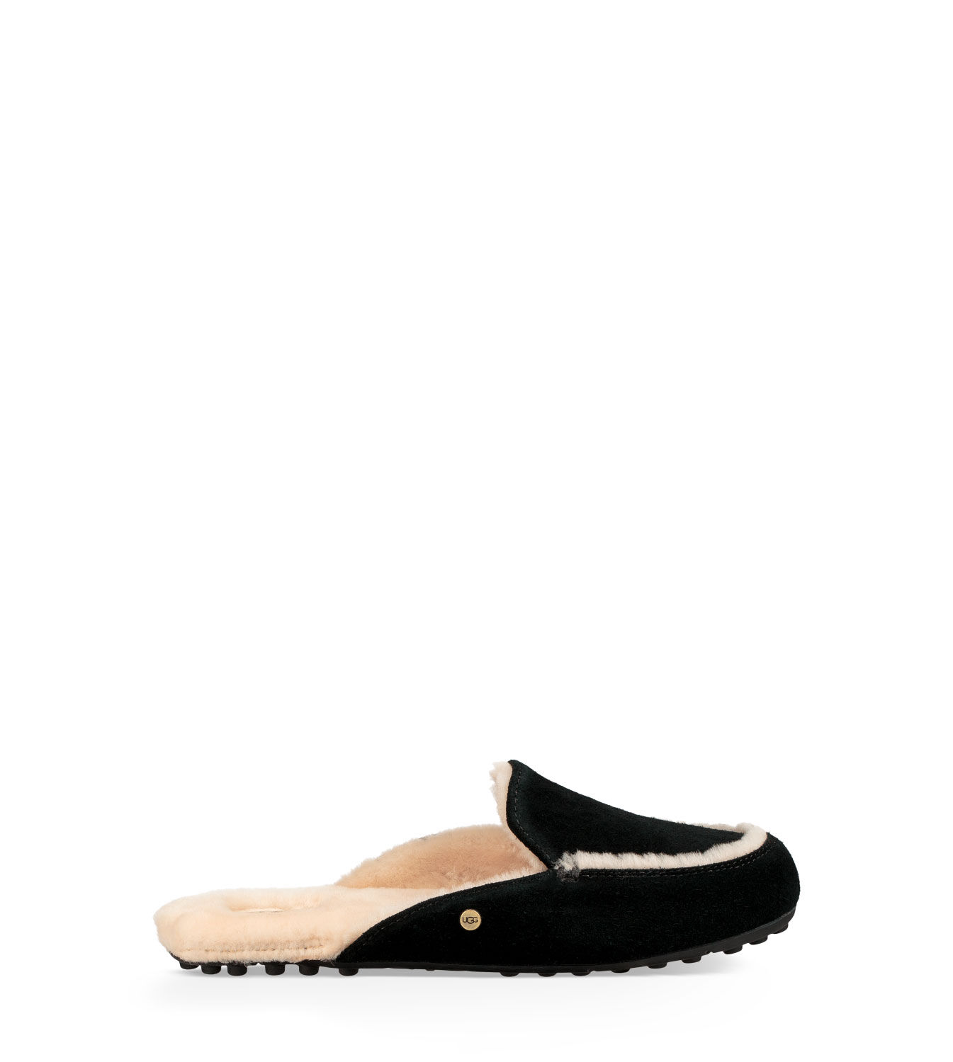 womens ugg suede loafers