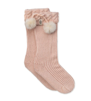 Raana Pom-Pom Rainboot Sock