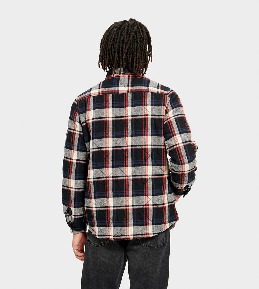 Trent Quilted Shirt Jacket Plaid - Image 2 of 6