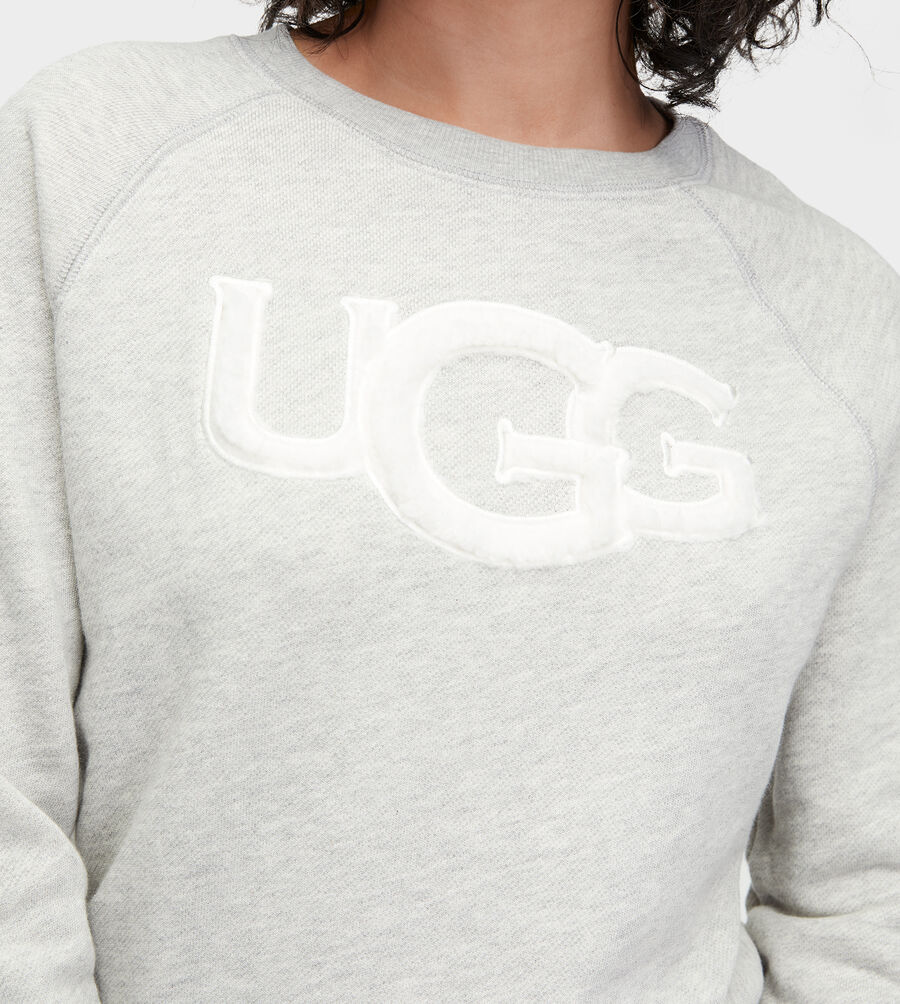 FUZZY LOGO SWEATSHIRT - Image 4 of 4