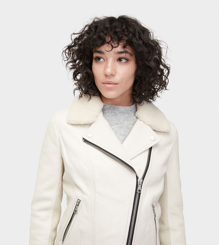 Andee Leather Cycle Jacket - Image 4 of 6