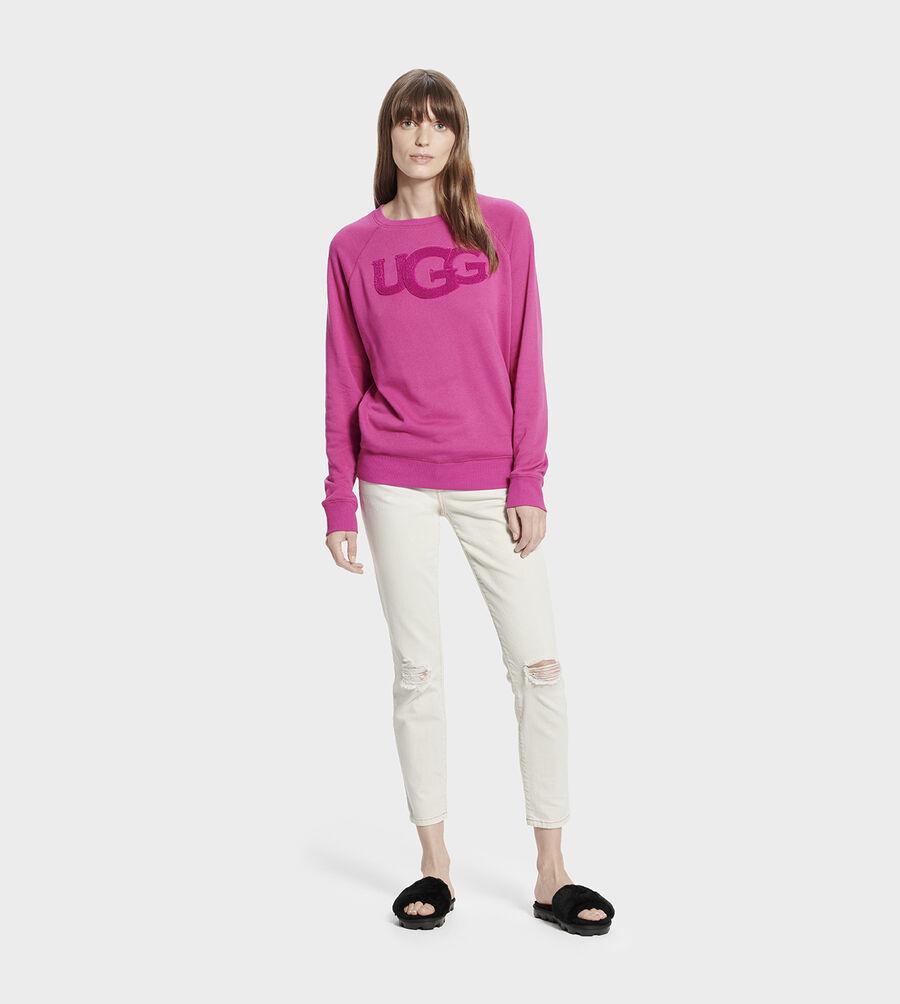 Fuzzy Logo Crewneck Sweatshirt - Image 6 of 6