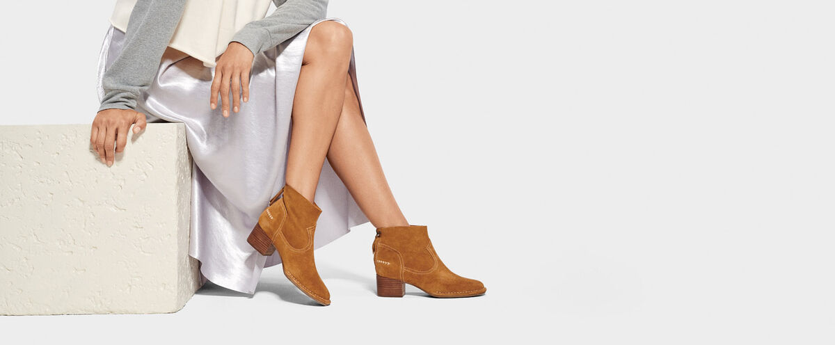 Bandara Ankle Boot Suede - Lifestyle image 1 of 1