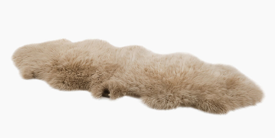 Sheepskin Area Rug - Double - Image 2 of 3