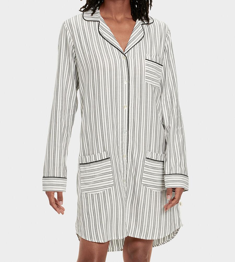 Laura Sleep Dress Stripe - Image 4 of 6