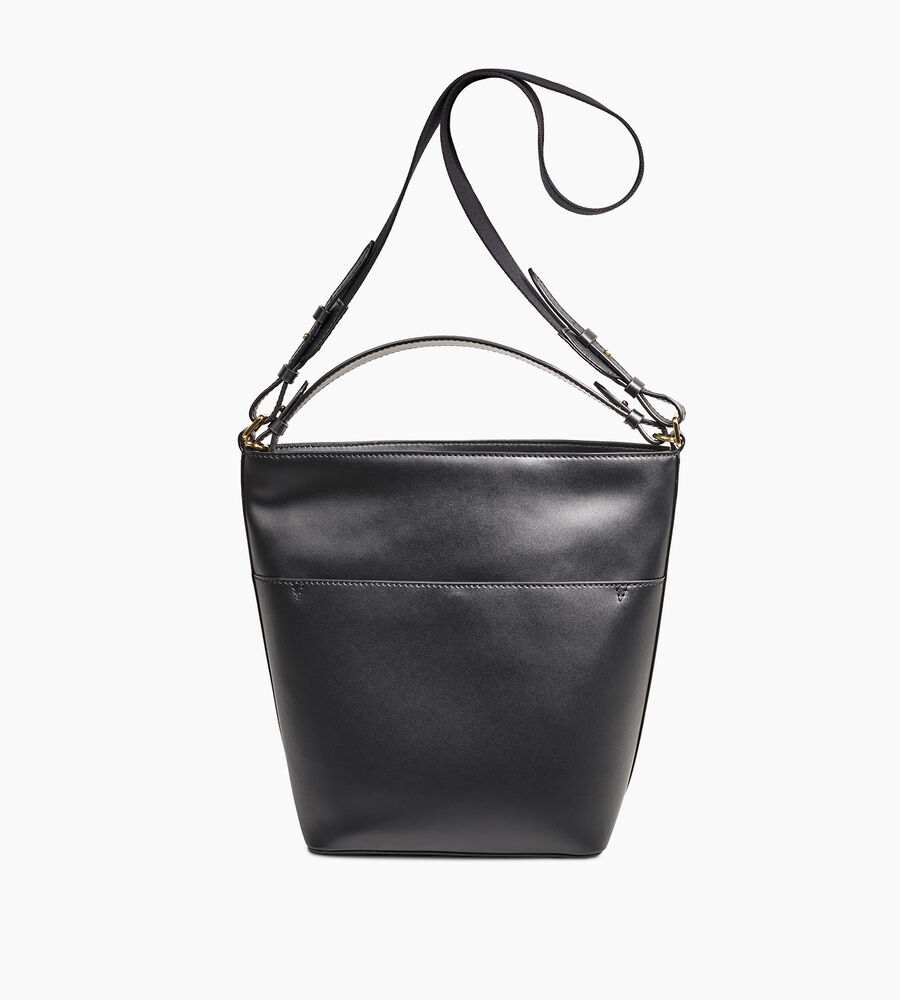 Libby Leather Bucket Tote - Image 3 of 5