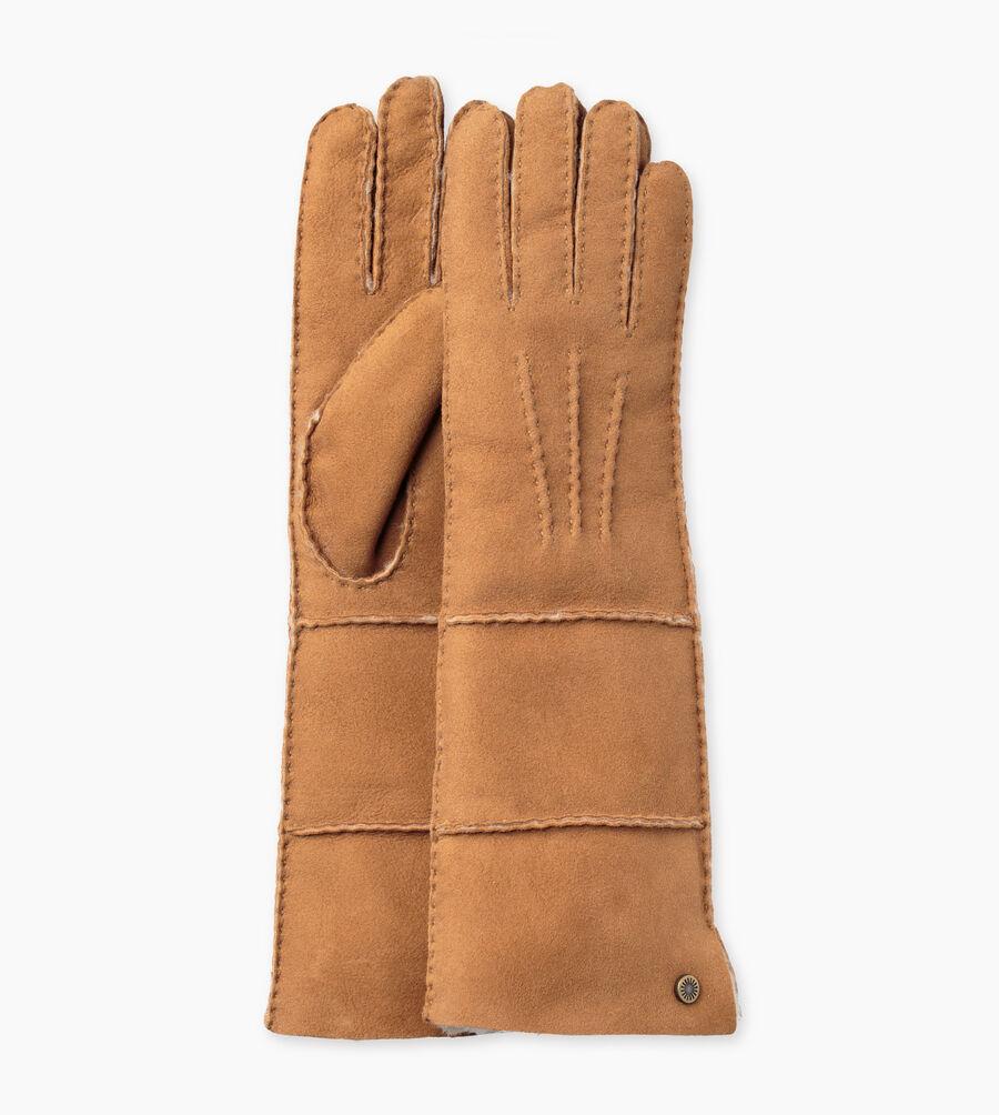 Sheepskin Long Pieced Slim Glove - Image 1 of 3