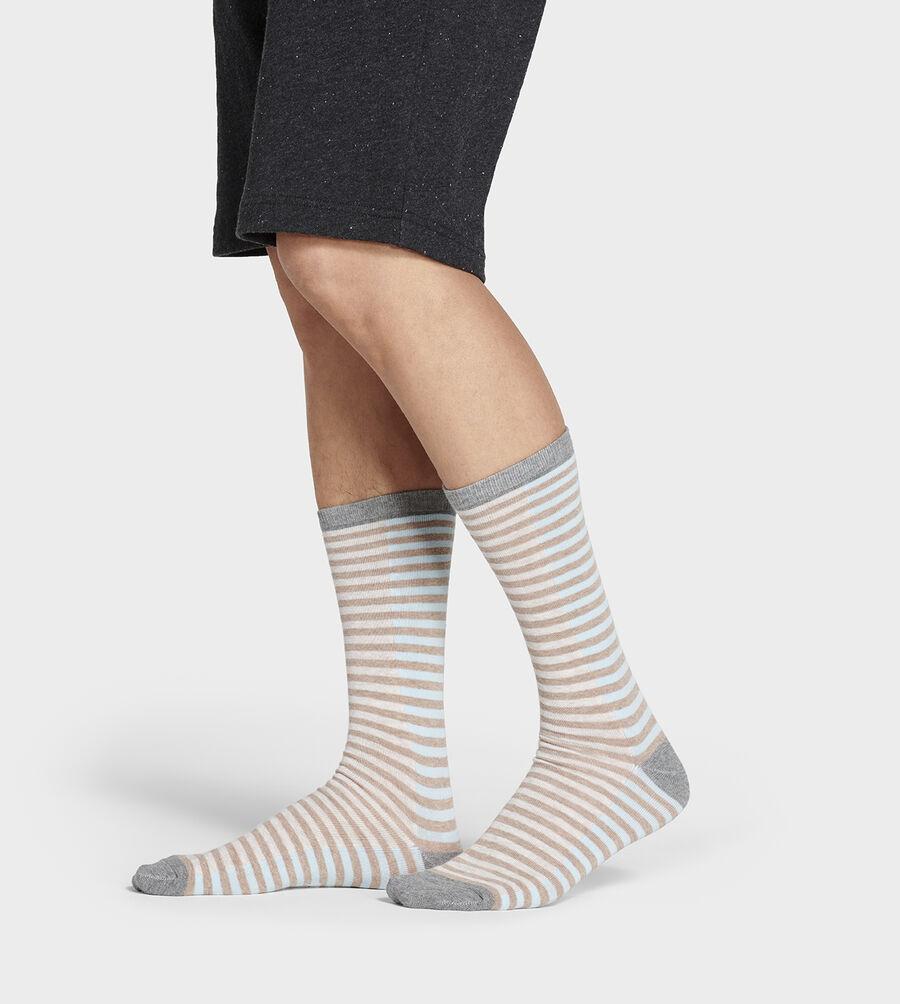 Codie Stripe Crew Sock - Image 3 of 4