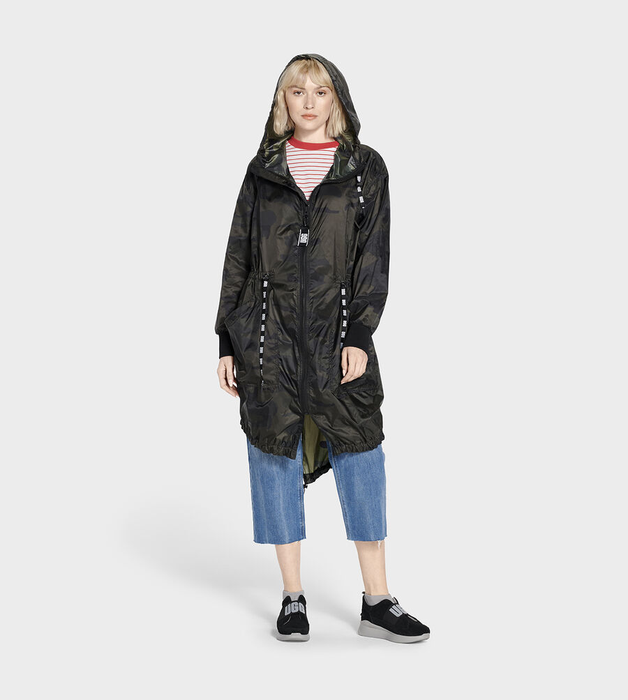 Carinna Hooded Anorak Jacket - Image 3 of 5