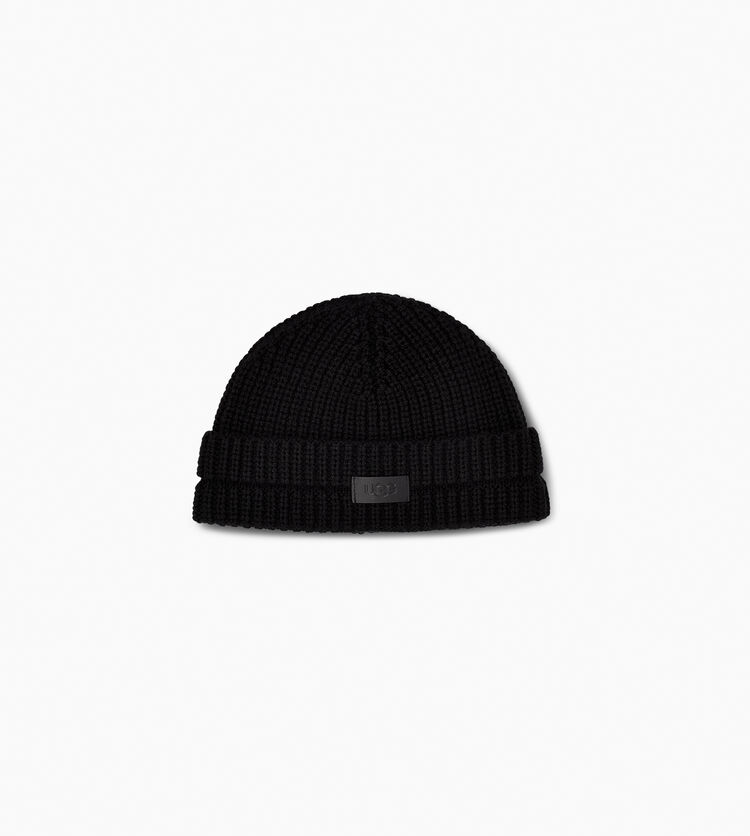 Ribbed Cuff Skully Hat