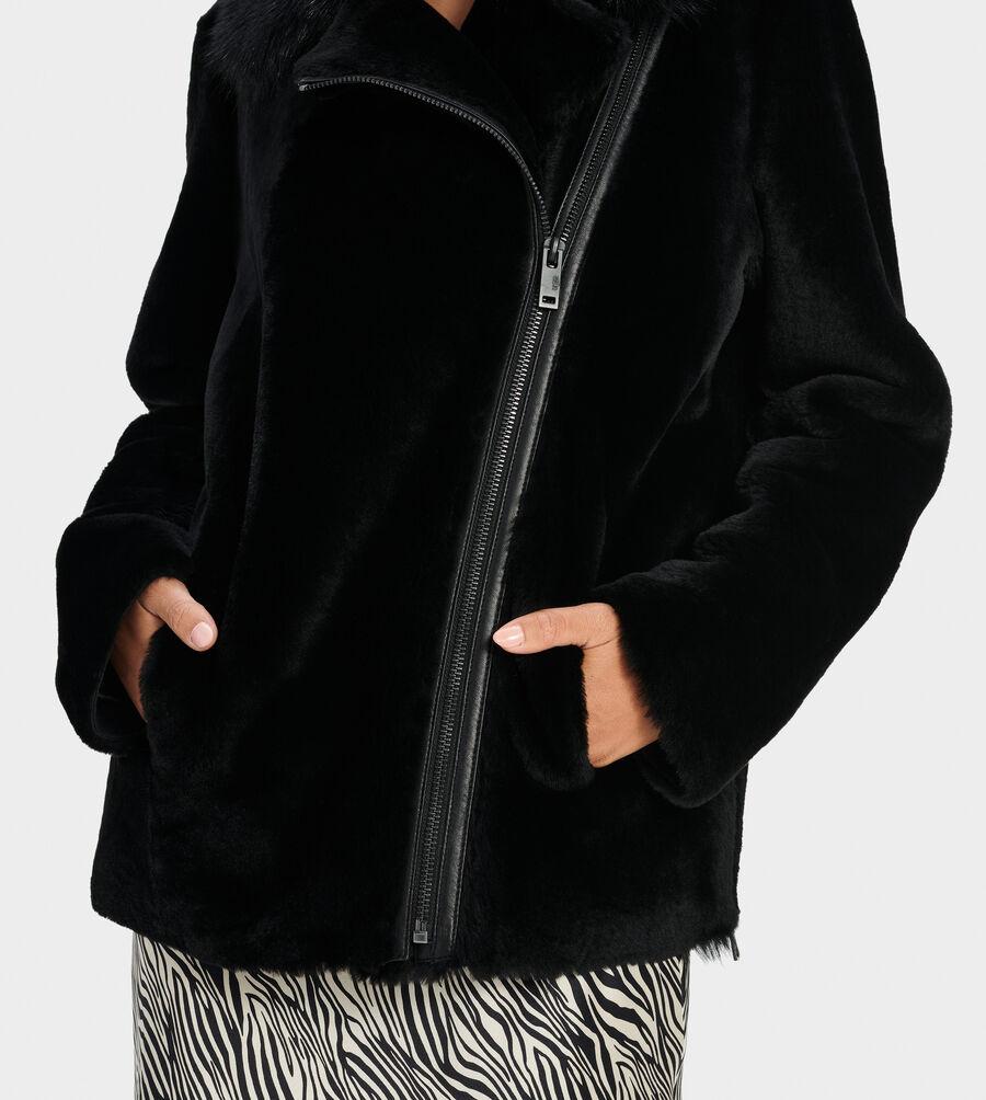 Nadine Short Shearling Jacket - Image 3 of 4