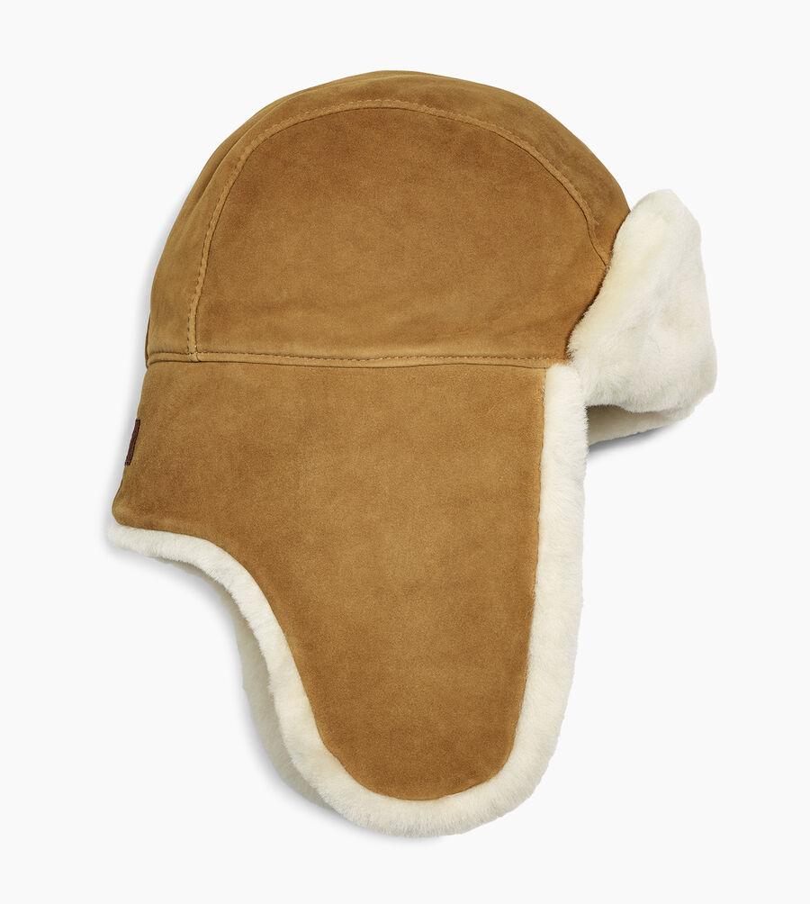 Sheepskin Trapper Hat - Image 2 of 2