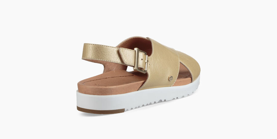 Kamile Metallic Sandal - Image 4 of 6