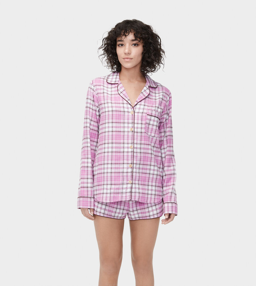 Milo Flannel PJ Set - Image 1 of 6